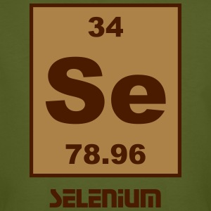 Selenium (Se) (element 34) - Men's Organic T-shirt
