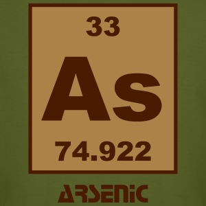 Arsenic (As) (element 33) - Men's Organic T-shirt