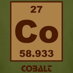 Cobalt (Co) (element 27) - Men's Organic T-shirt