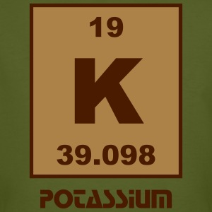 Potassium (K) (element 19) - Men's Organic T-shirt