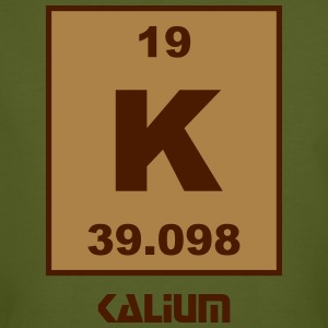 Kalium (K) (element 19) - Men's Organic T-shirt
