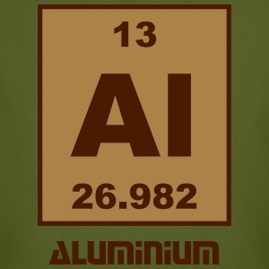 Aluminium (Al) (element 13) - Men's Organic T-shirt