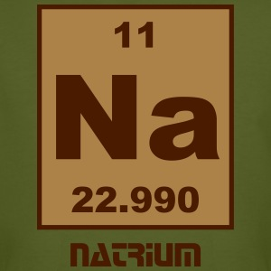 Natrium (Na) (element 11) - Men's Organic T-shirt