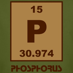 Phosphorus (P) (element 15) - Men's Organic T-shirt