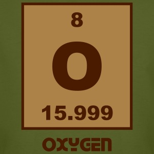 Oxygen (O) (element 8) - Men's Organic T-shirt