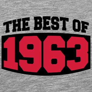 The Best Of 1963 T-skjorter - Premium T-skjorte for menn