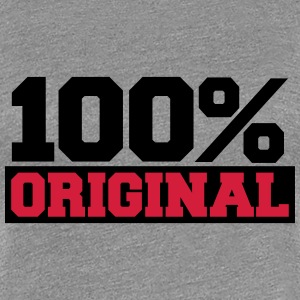 100 Percent Original T-Shirts - Frauen Premium T-Shirt