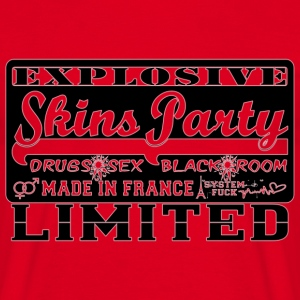 explosive skins party made in france Tee shirts - T-shirt Homme