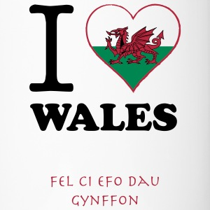 expatfood - I heart Wales Bottles & Mugs - Travel Mug
