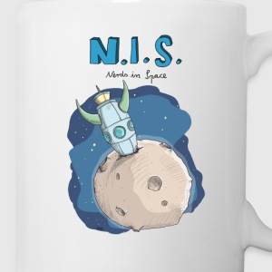 Nerds in Space Flaschen & Tassen - Tasse