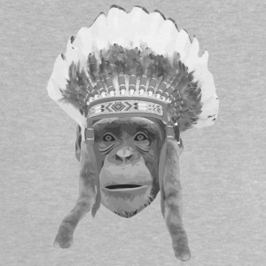indian headdress monkey Shirts - Baby T-Shirt