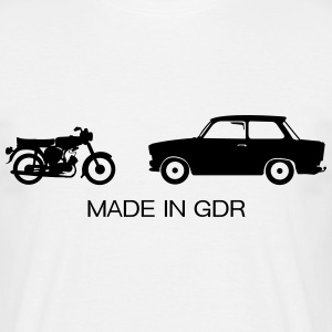 Biler Made in GDR  T-shirts - Herre-T-shirt