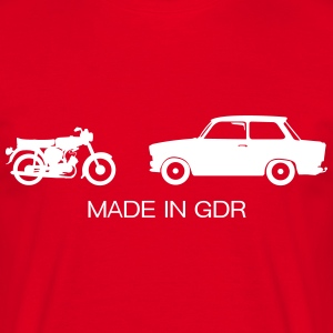 Cars Made in RDA  Camisetas - Camiseta hombre