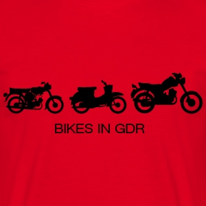 Motorcycles in the GDR  T-Shirts - Men's T-Shirt