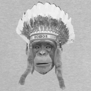 indian headdress monkey T-shirts - Baby T-shirt