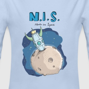 Nerds in Space Pullover & Hoodies - Baby Bio-Langarm-Body