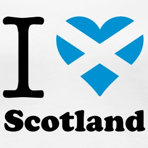 expatfood - I heart Scotland T-Shirts - Women's Premium T-Shirt