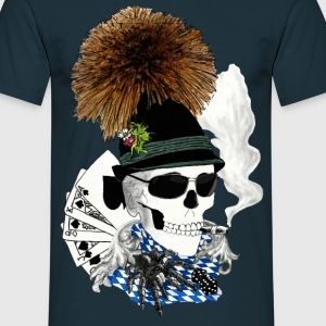 Wiesn-skull T-shirts - Mannen T-shirt
