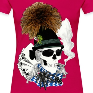 Wiesn-skull T-Shirts - Frauen Premium T-Shirt