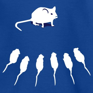 Royal blue Maus / mouse (2c) Kids' Shirts - Teenage T-shirt