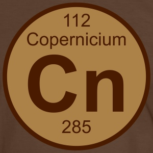 Copernicium (Cn) (element 112) - Men's Ringer Shirt