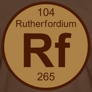 Rutherfordium (Rf) (element 104) - Men's Ringer Shirt