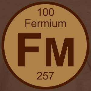 Fermium (Fm) (element 100) - Men's Ringer Shirt