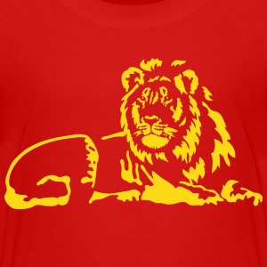 Lion T-Shirts - Teenager Premium T-Shirt