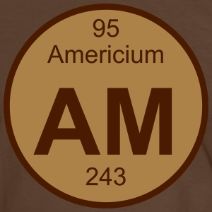 Americium (Am) (element 95) - Men's Ringer Shirt