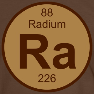 Radium (Ra) (element 88) - Men's Ringer Shirt