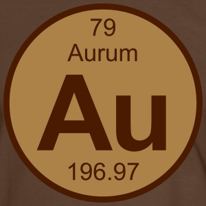 Aurum (Au) (element 79) - Men's Ringer Shirt