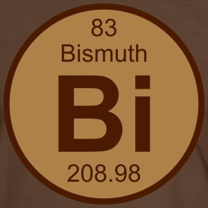 Bismuth (Bi) (element 83) - Men's Ringer Shirt