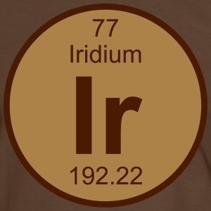 Iridium (Ir) (element 77) - Men's Ringer Shirt