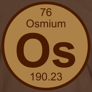 Osmium (Os) (element 76) - Men's Ringer Shirt