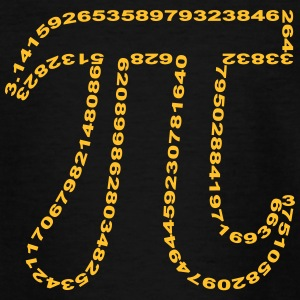 Pi - outline :-: - Teenage T-shirt