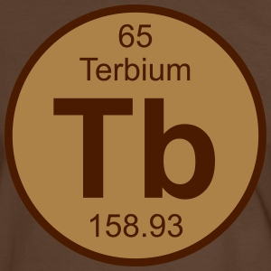 Terbium (Tb) (element 65) - Men's Ringer Shirt