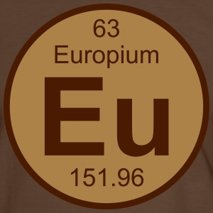 Europium (Eu) (element 63) - Men's Ringer Shirt