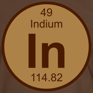 Indium (In) (element 49) - Men's Ringer Shirt