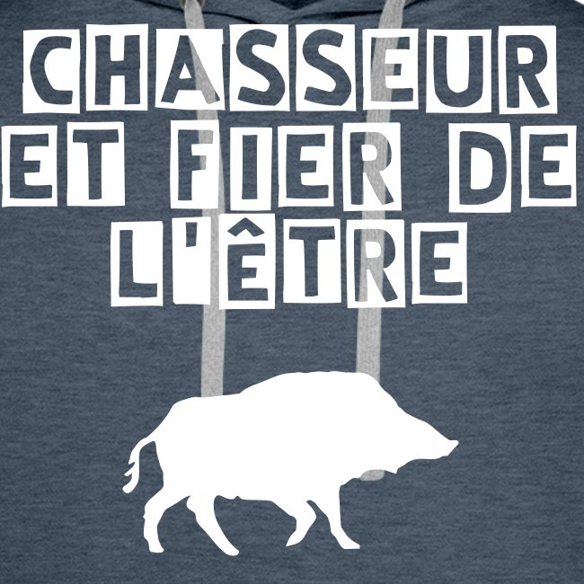 Sweat Chasseur Sanglier