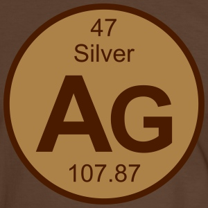 Silver (Ag) (element 47) - Men's Ringer Shirt