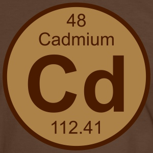 Cadmium (Cd) (element 48) - Men's Ringer Shirt