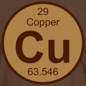 Copper (Cu) (element 29) - Men's Ringer Shirt