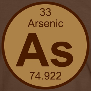 Arsenic (As) (element 33) - Men's Ringer Shirt