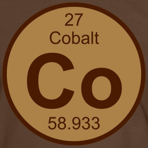 Cobalt (Co) (element 27) - Men's Ringer Shirt