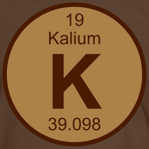 Kalium (K) (element 19) - Men's Ringer Shirt