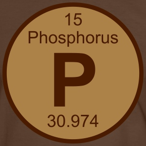 Phosphorus (P) (element 15) - Men's Ringer Shirt