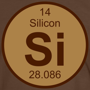 Element 14 - si (silicon) - Round (white) Tee shirts - T-shirt contraste Homme