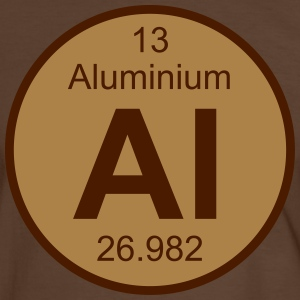 Aluminium (Al) (element 13) - Men's Ringer Shirt