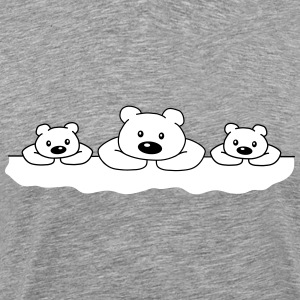 3 Ice Bears T-Shirts - Men's Premium T-Shirt