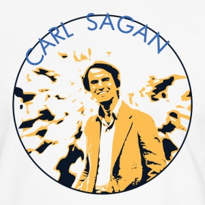 Vintage Carl Sagan  - Men's Ringer Shirt